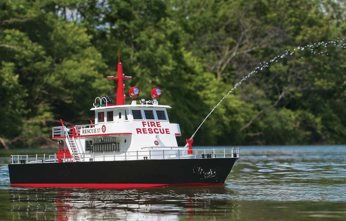 bateau pompier rescue 17 aquacraft aqub5701 bateau rc. Black Bedroom Furniture Sets. Home Design Ideas
