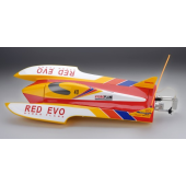 Racer Bateau RED EVO 50A (Fibre + brushless) (RC Ready)