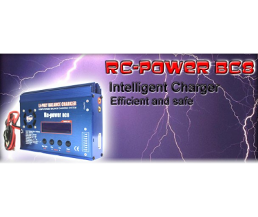 Chargeur BC8 AC 12V
