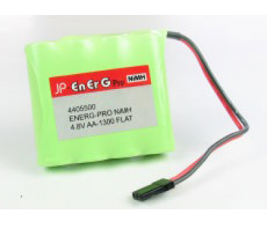 Pack accu Nimh 4.8V 1300mAh reception