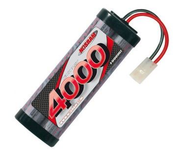 Team Pack 4000mah - 7.2V - 6 cellules NiMH Nosram
