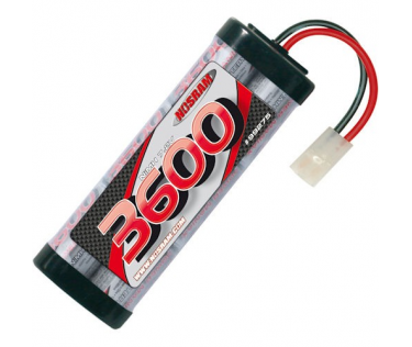 Power Pack 3600mah - 7.2V - 6 cellules NiMH Nosram